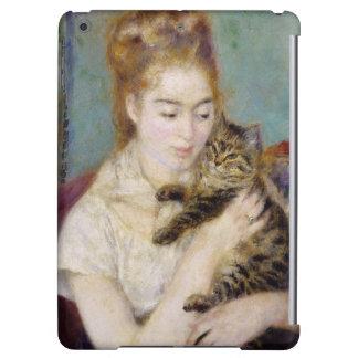 Pierre eine Renoir | Frau mit einer Katze