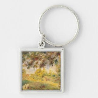 Pierre eine Renoir | Frühlings-Landschaft Schlüsselanhänger