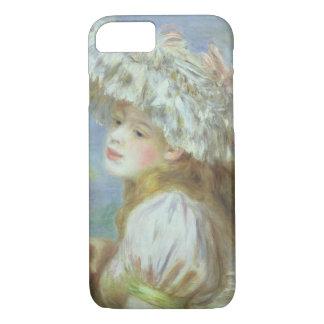 Pierre eine Renoir | junge Frau in einem Spitzehut iPhone 8/7 Hülle