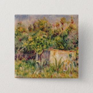 Pierre eine Renoir | Kabine in einer Reinigung in Quadratischer Button 5,1 Cm