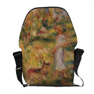Pierre eine Renoir | Landschaft mit der Ehefrau Kuriertasche