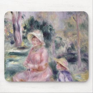 Pierre eine Renoir | Madame Renoir und ihr Sohn Mousepad