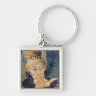 Pierre eine Renoir | Mädchen-Lesung Schlüsselanhänger