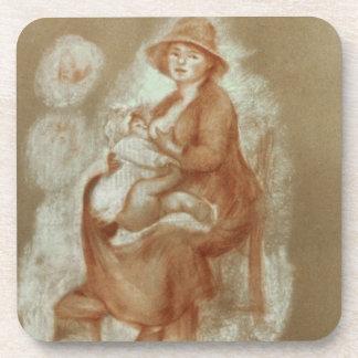 Pierre eine Renoir | Mutterschaft Getränkeuntersetzer