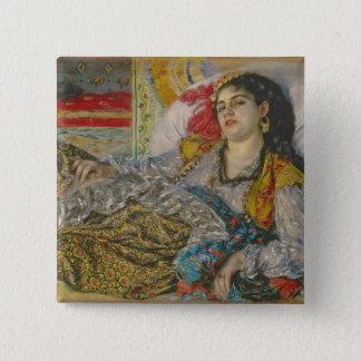 Pierre eine Renoir | Olympia Quadratischer Button 5,1 Cm