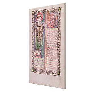 Pierrelombard-Bischof von Paris Galerie Gefaltete Leinwand