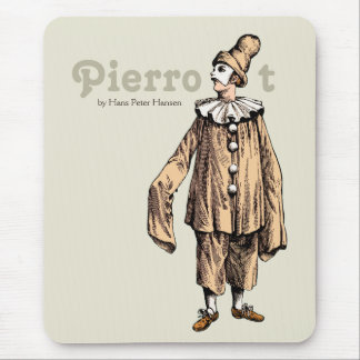 Pierrot durch Hans Peter Hansen CC0121 Mousepad