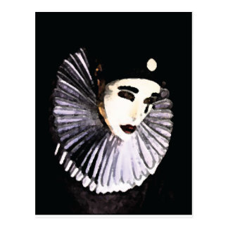 Pierrot Postkarte