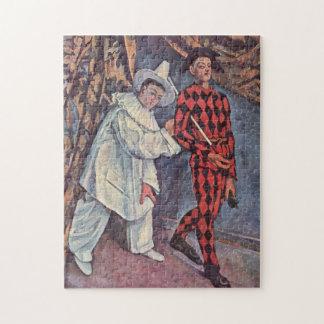 Pierrot und Harlekin Puzzle