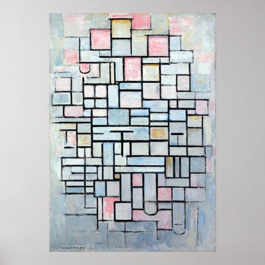 Piet Mondriaan Zusammensetzungs-Nr. IV Poster