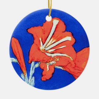 Piet Mondrian - Amaryllis-feine Keramik Ornament