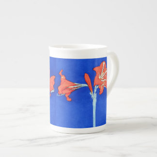 Piet Mondrian - Amaryllis-feine Porzellantasse