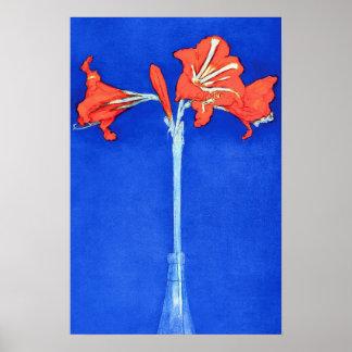 Piet Mondrian - Amaryllis-feine Poster