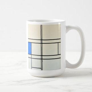 Piet Mondrian-moderne Kunst Kaffeetasse