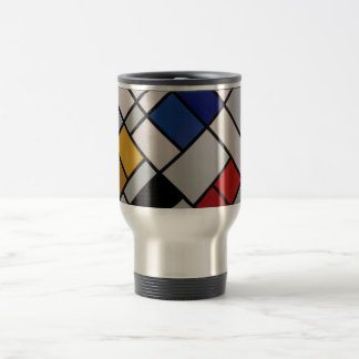 Piet Mondrian-moderne Kunst Reisebecher