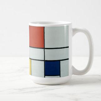 Piet Mondrian-moderne Kunst Teehaferl