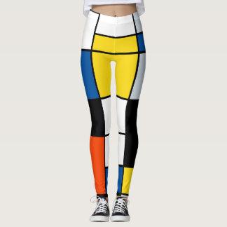 Piet Mondrian Zusammensetzung A - abstrakte Leggings