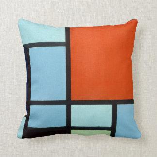 Piet Mondrian-Zusammensetzung Kissen