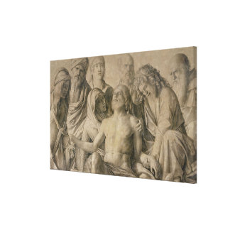 Pieta, der tote Christus Leinwanddrucke