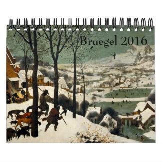 Pieter Bruegel ältere kleine 2016 Kalender