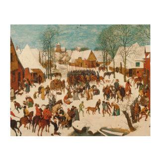 Pieter Bruegel das Ältest-Massaker der Unschuldige Holzdruck