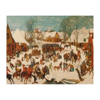 Pieter Bruegel das Ältest-Massaker der Unschuldige Holzwanddeko