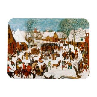 Pieter Bruegel das Ältest-Massaker der Unschuldige Recchteckiger Magnet