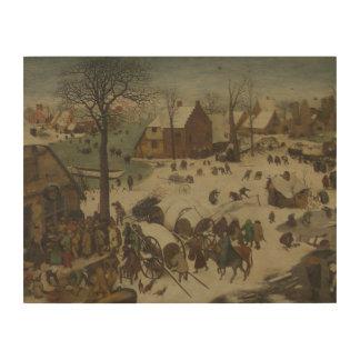 Pieter Bruegel das Älteste - Nummerierung in Holzleinwand