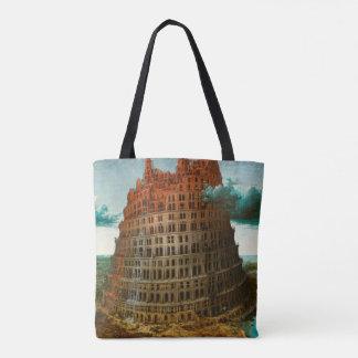 PIETER BRUEGEL - Der kleine Turm von Babel 1563 Tasche