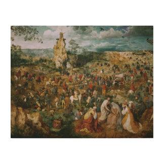 Pieter Bruegel die Ältester-D Prozession zum Holzdruck