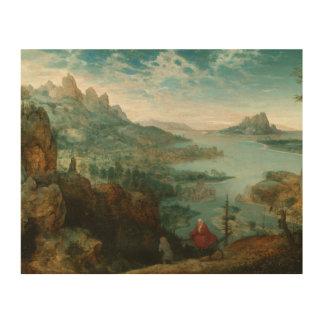 Pieter Bruegel - gestalten Sie mit Flug in Ägypten Holzleinwand