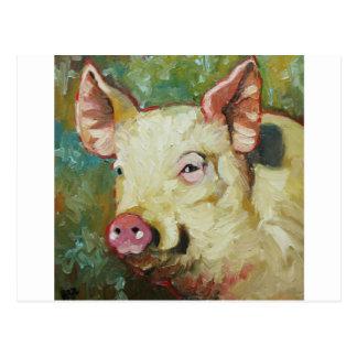 Pig#8 Postkarte