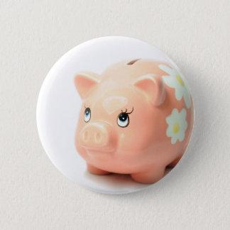 Piggy-Bank Runder Button 5,1 Cm