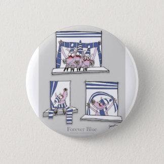 piggy Foreverblau Runder Button 5,7 Cm