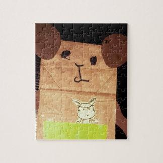 Piggy Gesicht Browns Puzzle