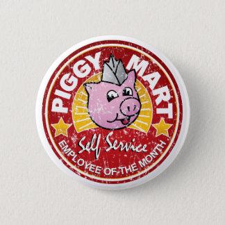 Piggy Handelszentrum-Angestellter des Runder Button 5,7 Cm