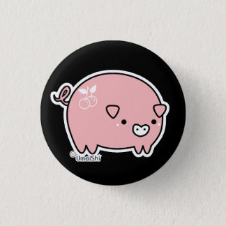 Piggy Knopf Runder Button 3,2 Cm