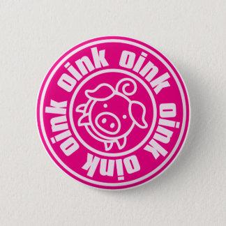 Piggy Runder Button 5,1 Cm