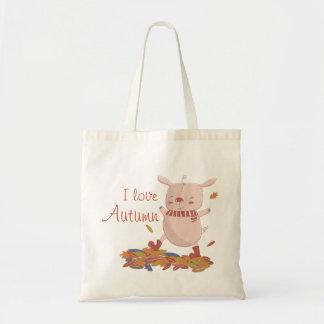 Piggy Tasche des Herbstes