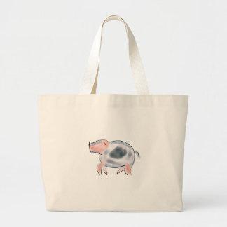 Piggy Taschen-Lebensmittelgeschäft-Tasche Jumbo Stoffbeutel