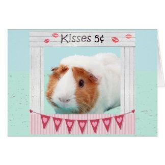 Piggy Umarmungen und Küsse Karte