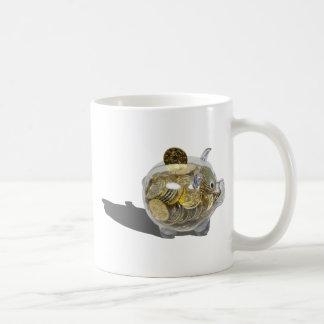PiggyBankGoldCoins102410 Kaffeetasse