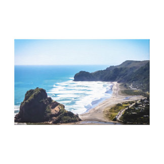 Piha Strand, Neuseeland Leinwanddruck