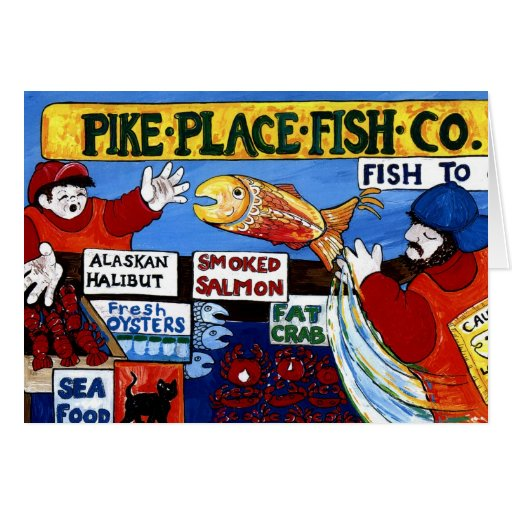 Pike-Platz-Fische Co. Karten