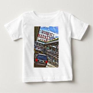 Pike-Platz-Markt Baby T-shirt