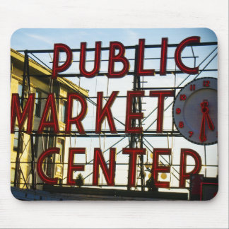 Pike-Platz-Markt-Mausunterlage Mauspad