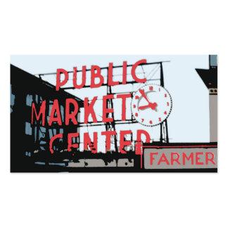 Pike-Platz-Markt Visitenkarten