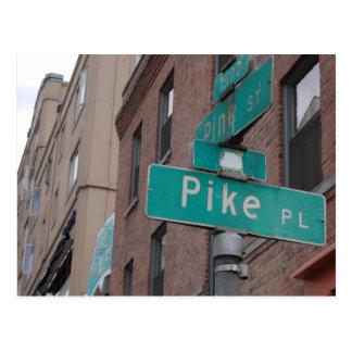 Pike-Postkarte Postkarte