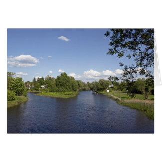Pike River.Bedford.Quebec Grußkarte