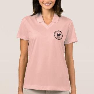 Pikee-Polo-Shirt der Frauen mit STCGA Logo Polo Shirt